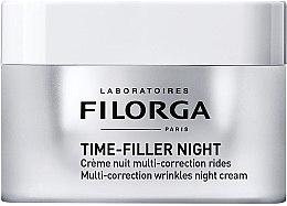Парфюми, Парфюмерия, козметика Нощен възстановяващ крем за лице против бръчки - Filorga Time-filler Night Cream