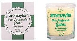 Парфюми, Парфюмерия, козметика Ароматна свещ - Mayfer Perfumes Aromayfer Scented Candle