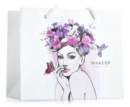 Подаръчна торбичка с размер 20x16х9см - MakeUp — снимка N1