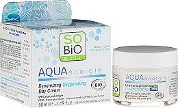 Парфюмерия и Козметика Дневен крем-гел - So'Bio Etic Aqua Energie Dynamic Oxygen-Rich Gel Day Cream