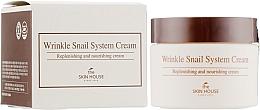 Парфюмерия и Козметика Антистареещ крем за лице с охлюв - The Skin House Wrinkle Snail System Cream