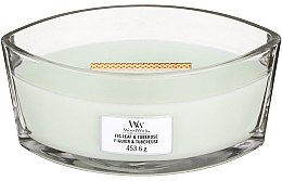 Парфюмерия и Козметика Ароматна свещ в чаша - WoodWick Ellipse Candle Fig Leaf And Tuberose