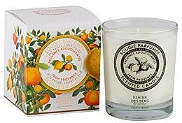 Парфюмерия и Козметика Ароматизираща свещ - Panier Des Sens Decorative Scented Candle In Glass Provence