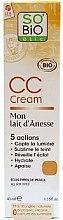 Парфюмерия и Козметика CC-крем - So'Bio Etic CC Cream with Organic Donkey Milk