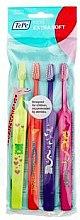 Парфюмерия и Козметика Комплект четки за зъби - TePe Kids X-Soft