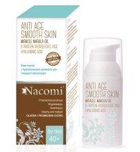 Парфюми, Парфюмерия, козметика Дневен крем за лице - Nacomi Anti Age Smooth Skin Face Cream 40+