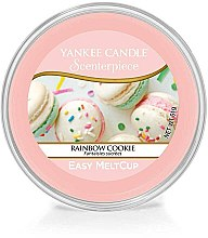 Парфюми, Парфюмерия, козметика Ароматен восък - Yankee Candle Rainbow Cookie Scenterpiece Melt Cup