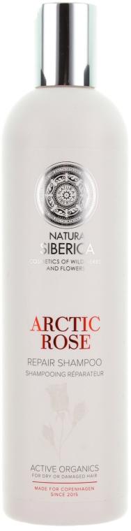 """Шампоан за възстановяване на косата """"Арктическа роза"""" - Natura Siberica Arctic Rose Repair Shampoo"""