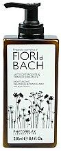 Парфюмерия и Козметика Мляко-тоник за лице - Phytorelax Laboratories Bach Flowers Moisturizing Cleansing & Toning Milk