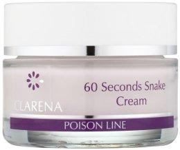 Парфюми, Парфюмерия, козметика 60-секунден крем с отрова от кобра - Clarena Poison Line 60 Seconds Snake Cream