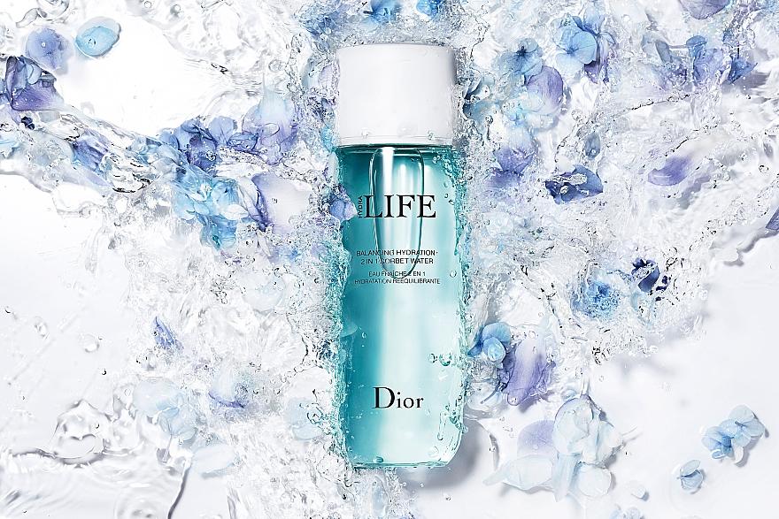 Хидратиращ лосион-сорбе за лице 2-в-1 - Dior Hydra Life Balancing Hydration 2-in-1 Sorbet Water — снимка N4