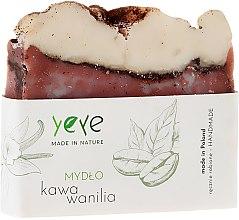 "Парфюмерия и Козметика 100% Натурален сапун ""Кафе и ванилия"" - Yeye Natural Coffee and Vanilla Soap"