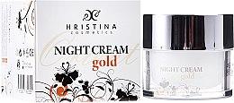 Парфюми, Парфюмерия, козметика Нощен крем за лице - Hristina Cosmetics Orient Gold Night Cream