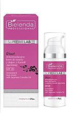 Парфюмерия и Козметика Антиоксидантен крем за лице с масло от японска камелия SPF20 - Bielenda Professional SupremeLab