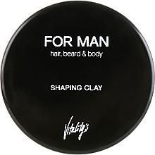 Парфюмерия и Козметика Моделираща глина за оформяне на коса - Vitality's For Man Shaping Clay