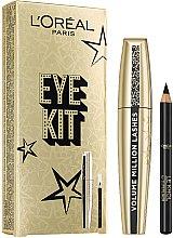 Парфюми, Парфюмерия, козметика Комплект спирала и молив за очи - L'Oreal Paris (mascara/10.5ml + eyeliner/3.8g)