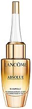 Парфюмерия и Козметика Концентриран серум с екстракт от роза против стареене - Lancome Absolue Repair Bi-Ampoule Concentrated