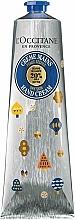 """Парфюмерия и Козметика Крем за ръце """"Карите"""" - L'Occitane Shea Butter Hand Cream Limited Edition"""