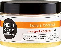 Парфюми, Парфюмерия, козметика Скраб за тяло - Melli Care Orange&Coconut Scrub
