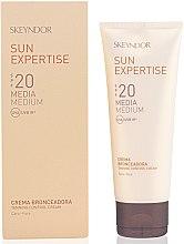 Парфюми, Парфюмерия, козметика Защитен крем за контрол на тена SPF20 - Skeyndor Sun Expertise Tanning Control Cream SPF20