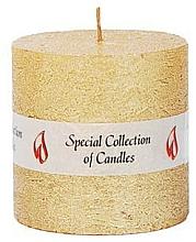 Парфюмерия и Козметика Натурална свещ, 7.5 см - Ringa Golden Glow Candle
