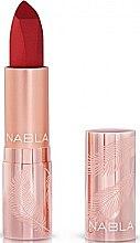Парфюми, Парфюмерия, козметика Матово червило за устни - Nabla Cult Matte Soft Touch Lipstick