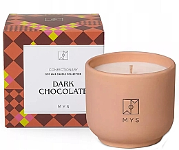"""Парфюмерия и Козметика Соева свещ """"Черен шоколад"""" - Mys Dark Chocolate Candle"""