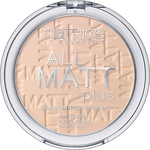 Матираща пудра за лице - Catrice All Matt Plus Shine Control Powder