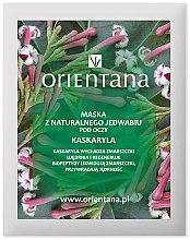"Парфюми, Парфюмерия, козметика Маска за околоочна зона ""Кротон"" - Orientana Eye Silk Pad Cascarilla"