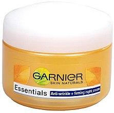 Парфюми, Парфюмерия, козметика Нощен крем против бръчки - Garnier Anti-Wrinkle Firming Night Cream