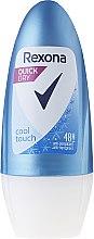 Парфюми, Парфюмерия, козметика Рол-он дезодорант - Rexona Cool Touch Woman Deodorant Roll-On