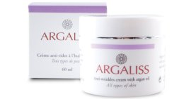 Парфюми, Парфюмерия, козметика Арганов крем против бръчки - Argaliss Anti-wrinkles Cream with Argan Oil