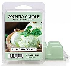 Парфюмерия и Козметика Восък за арома лампа - Country Candle Pistachio Gelato Wax Melts