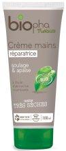 Парфюми, Парфюмерия, козметика Крем за ръце с масло от ший - Biopha Organic Hand Cream