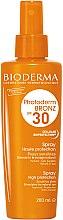Парфюми, Парфюмерия, козметика Слънцезащитен спрей за чувствителна кожа - Bioderma Photoderm Bronz SPF30 Protection Spray
