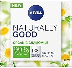 Парфюмерия и Козметика Дневен крем за чувствителна кожа - Nivea Naturally Good Day Sensitive Care
