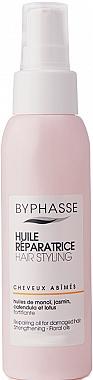 Възстановяващо масло за увредена коса - Byphasse Repairing Oil For Damaged Hair