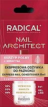 Парфюмерия и Козметика Експресен заздравител за нокти 8 в 1 - Farmona Radical Nail Architect Express 8in1