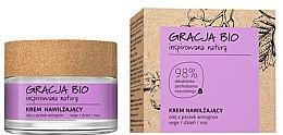Парфюмерия и Козметика Хидратиращ крем за лице с масло от гроздови семки - Gracja Bio Moisturizing Face Cream
