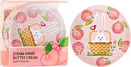 """Парфюми, Парфюмерия, козметика Крем за ръце """"Праскова"""" - SeaNtree Steam Hand Butter Cream Soft Peach Bunny"""