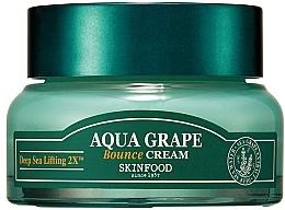 Парфюмерия и Козметика Крем за лице - SkinFood Aqua Grape Bounce Cream