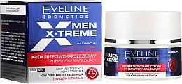 Парфюмерия и Козметика Интензивен крем против бръчки - Eveline Cosmetics Men Extreme Anti-Age Cream