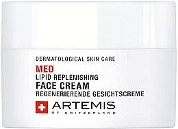 Парфюмерия и Козметика Възстановяващ липиден крем за лице - Artemis of Switzerland Med Lipid Replenishing Face Cream