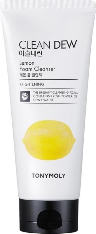 Почистваща пяна за лице - Tony Moly Clean Dew Foam Cleanser Lemon