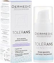 Парфюми, Парфюмерия, козметика Успокояващ околоочен крем - Dermedic Tolerans Special Eye Cream