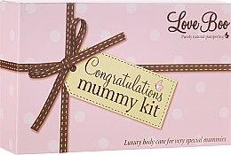 Парфюмерия и Козметика Комплект - Love Boo Congratulations Mummy Kit (b/oil/100ml + oil/190ml + b/lot/100ml)
