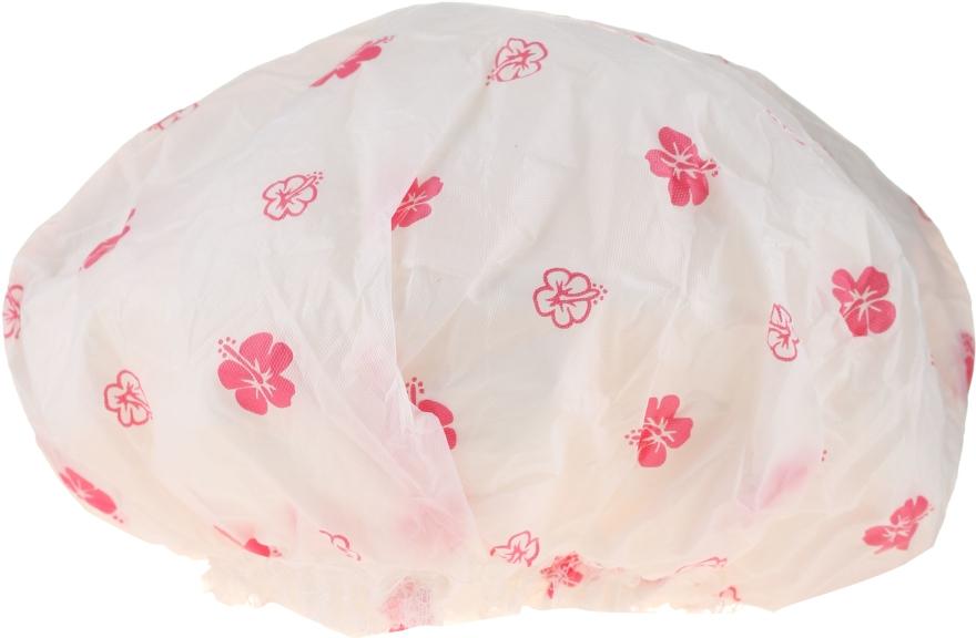 Шапка за душ, 9298, бели и розови цветя - Donegal Shower Cap