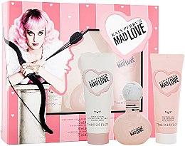 Парфюми, Парфюмерия, козметика Katy Perry Katy Perry's Mad Love - Комплект (парф. вода/50ml + лосион за тяло/75ml + душ гел/75ml)