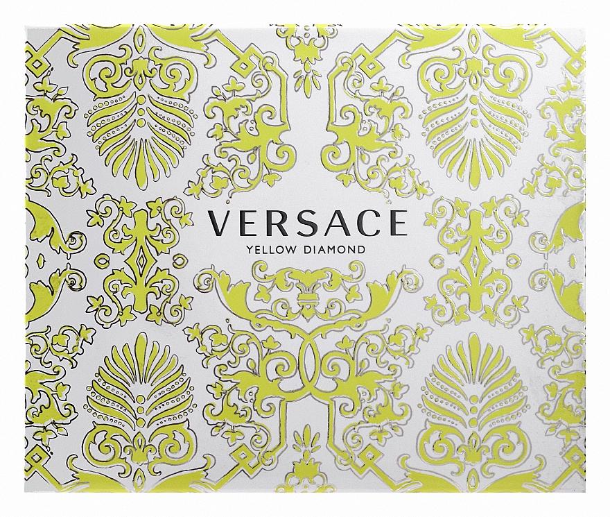 Versace Yellow Diamond - Комплект (edt/50ml + b/l50ml + sh/g50ml) — снимка N1