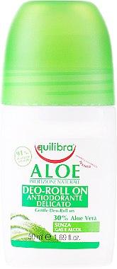 Рол-он дезодорант - Equilibra Aloe Deo Aloes Roll-On — снимка N1